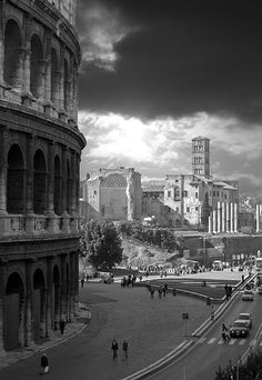 War and peace. #Coliseum #Rome #Italy #Landscape #Photography #Architecture
