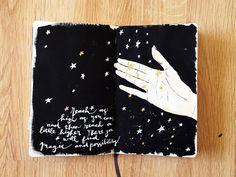 @kahlert | Reach | Season of Magic | Get Messy Art Journal