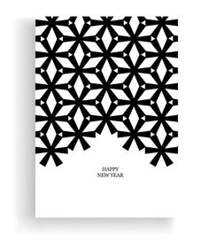minimale B & W-Weihnachtskarten bei Behance - christmas - Weihnachten Corporate Christmas Cards, Business Holiday Cards, Xmas Cards, Christmas Greetings, Christmas Brochure, Natal Design, Karten Diy, Minimal Christmas, Christmas Invitations