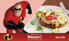 Mr Incredible's Clobbered Egg Avocado Toast