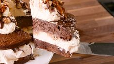 Snickers Brownie Ice Cream Cake Is Outrageous In The Best Possible Way