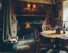 Great pubs with real fires - The Potting Shed, Malmeabury, Wiltshire, UK - (© Bushmills Inn)