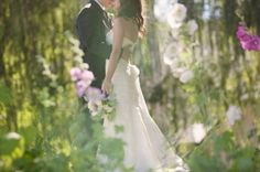 beautiful wedding couple by isabella