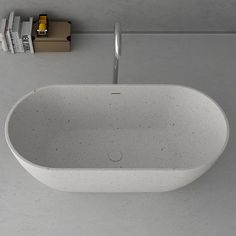 Purchase Online Prodigg DIVA Stone Solid Surface 170 Oval Shape by Prodigg Box Size ml x ml x ml White, Black, Grey Colour Solid Surface Square Bathtub, Small Bathtub, Freestanding Bathtub, Stone Bathtub, Cast Iron Bathtub, Bath Tubs, Solid Surface, Sydney, Sink