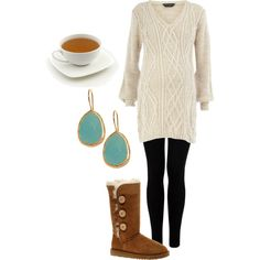 yes. the tea cup makes it. i also want a long sweater like that