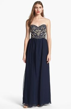 JS Collections Embellished Chiffon Gown available at #Nordstrom ...