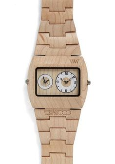 Woodgrain An Hour Watch | Mod Retro Vintage Watches | Modcloth.com
