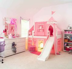 Bedroom Sets for Teens . Bedroom Sets for Teens. Q Coaster Furniture Shayne Queen Bed Bunk Beds Small Room, Girls Bunk Beds, Loft Bunk Beds, Low Loft Beds, Modern Bunk Beds, Kid Beds, Small Rooms, Bed Rooms, Bunk Bed With Slide