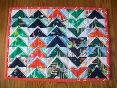 The Courage to Create: My second Schnitzel & Boo mini quilt