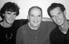 Jamie & Andy with their grand-father !