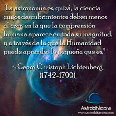 Esta es la frase de la semana en Astrobitácora. #astronomia #ciencia #frasedelasemana