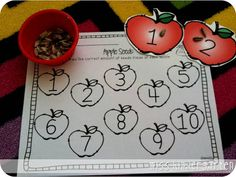 This blog gives many examples of fall themed centers. On the blog she has math and language arts among many other sections to use in a classroom.  Miss Kindergarten is a useful source not only for centers but also for crafts and DIY classroom ideas.