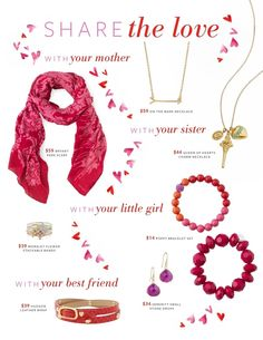 Some great ideas for the ladies in your life. Even the little ones! #StellaDotlove
