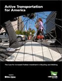 """""""Active Transportation for America"""" makes the case and quantifies the national benefits that increased federal funding in bicycling and walking infrastructure would provide tens of billions of dollars in benefits to all Americans. #bikenomics"""