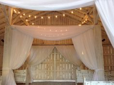 Style Shoot Inspiration: #DrapingDesigns - Whimsical Draping Transforms Tennessee Barn into Fairy Tale Event | Nashville Wedding Guide for Brides, Grooms - Ashley's Bride Guide
