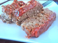 Meatloaf - This sounds like a nice change from my old recipe that uses box stuffing and seasonings!