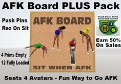 Hairy's AFK Board PLUS Pack