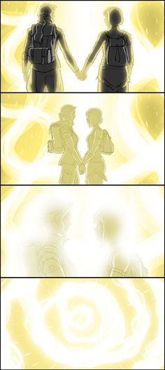 Official storyboard from the final scene of the final episode by Bryan Konietzko