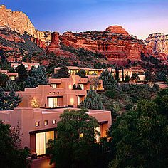 Enchantment Resort - Sedona, AZ...I want to stay there, just for the views...