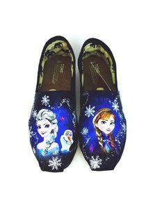Anna and Elsa Tom's