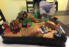 Monster jam cake                                                                                                                                                                                 More