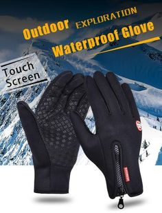 Outdoor Sports Hiking Winter Bicycle Bike Cycling Gloves For Men Women Windstopper Simulated Leather Soft Warm Gloves Bike Gloves, Motorcycle Gloves, Cycling Gloves, Pink Motorcycle, Waterproof Gloves, Driving Gloves, Men Hiking, Snowboard, Sports