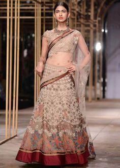 Models showcasing the exquisite collection of Tarun Tahiliani at Indian Bridal Week NOV 2013 at Mumbai 32