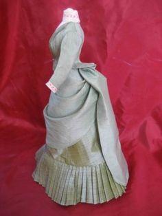 Bustle dress - 1880's