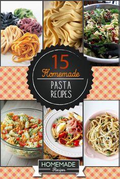 How to Make The Best Homemade Pasta Recipes | homemaderecipes.com