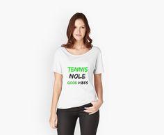 Tennis Nole Good Vibes.  by silviasunflower