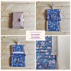 Atelier Rieule sur Instagram: COUTURE 🧵 Quand ma fille me commande un portefeuille compact pour l'assortir à son joli sac à main rose... Ça donne un beau portefeuille…