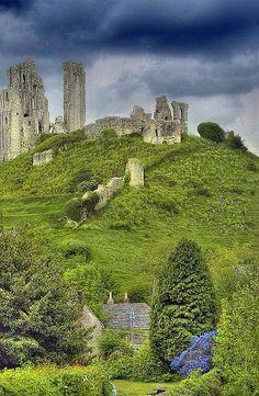 Corfe Castle, Dorset England