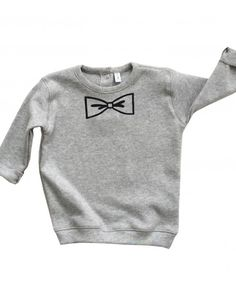 Bluza ORGANIC ZOO BOW grey sweatshirt