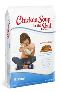 Chicken Soup for the Soul Kitten 15lb ** You can find out more details at the link of the image.-It is an affiliate link to Amazon. #CatTreats