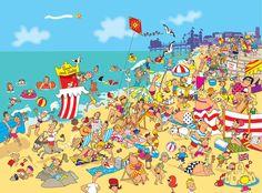 cartoon illustrations of the seaside - Google Search