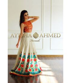 6 Ayesha Ahmed formal wear collection 2015 For Girls Traditional Looks, Traditional Dresses, Indian Attire, Indian Wear, Pakistani Outfits, Indian Outfits, Desi Clothes, Indian Clothes, Eid Collection
