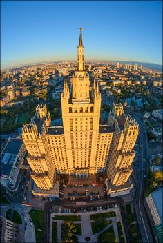 Высотка на Кудринской площади (airpano.ru)