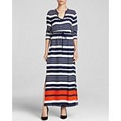 MICHAEL Michael Kors Helsinki Stripe Maxi Dress