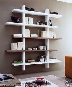 Libreria Plane Tree da parete a forma di albero in legno 160 x 150 ...