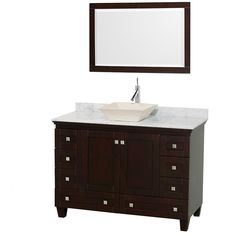 Sublimely linking traditional and modern design aesthetics, and part of the exclusive Wyndham Collection Designer Series by Christopher Grubb, the Acclaim Vanity undermonut is at home in almost every bathroom decor.