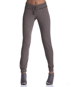 $24.99 Take a look at this Earth Lodgepole French Terry Sweatpants by lur® on #zulily today!