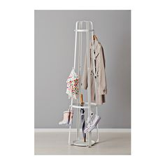 ENUDDEN Hat and coat stand  - IKEA I could put wrapping paper in the center stand and I would be able to hand projects on the outside