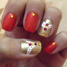 Ethnic Indian Nails