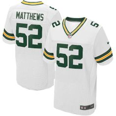 1ed4cd2e1 All Size Free Shipping Elite Youth Nike Green Bay Packers  52 Clay Matthews  White NFL