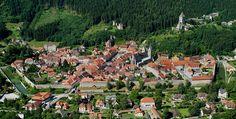 Las murallas completas de Friesach. encanto en Austria - http://www.absolutaustria.com/6389-2/