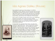 Dailey Family Tree - page 32 Ida Agnes Rouse Her side of the family