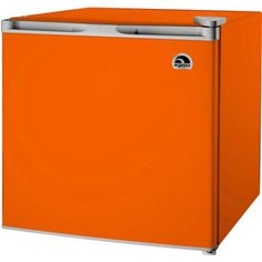 The IGLOO cu. Mini Refrigerator in Orange gives you the space you need to store your favorite foods and drinks without taking up a lot of room. This low energy consumption refrigerator is perfect Beverage Refrigerator, Compact Refrigerator, Refrigerator Freezer, Small Mini Fridge, Retro Fridge, Shelf Design, Orange, Home Depot, The Ordinary
