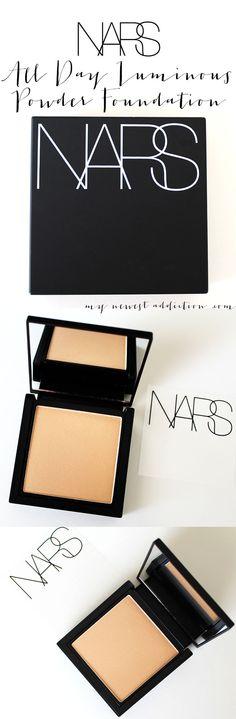 NARS Cosmetics All Day Luminous Powder Foundation Review