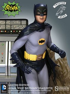 DC Comics To the BATMOBILE - Batman Maquette Diorama by Twe | Sideshow Collectibles
