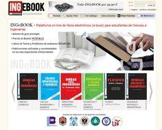 Ingebook #Eurekas! Plataforma Online de libros electrónicos para estudiantes de Ciencias, Ingeniería y Arquitectura